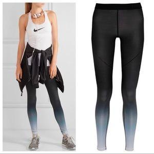 Nike Pro Hyperwarm ombré tights leggings small